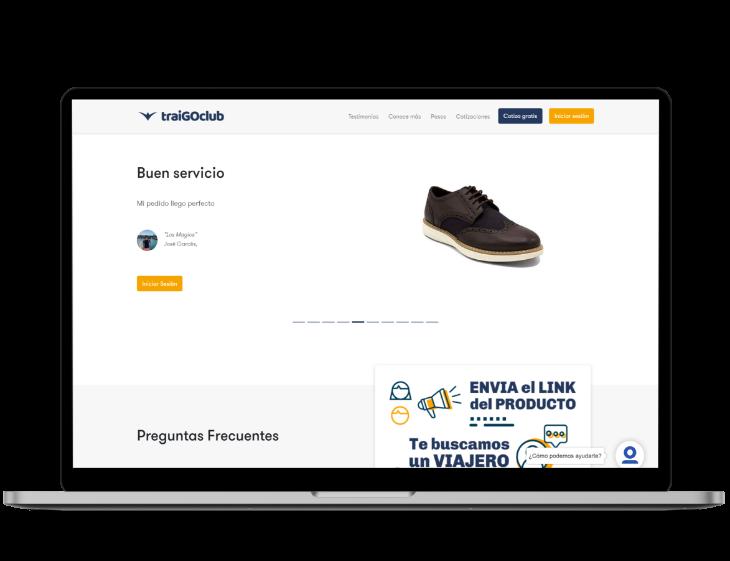 Traigo Club Web Product of Smartup Network