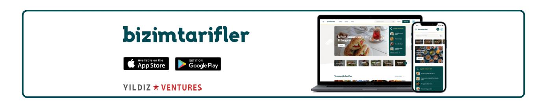 Bizimtarifler.com website and mobile app homepage screenshots