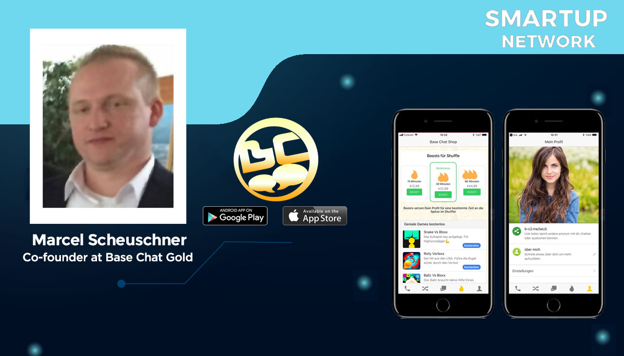 """Featured """"Smartup"""" BaseChatGold has reached 140000 users in Germany in 6 months !"""