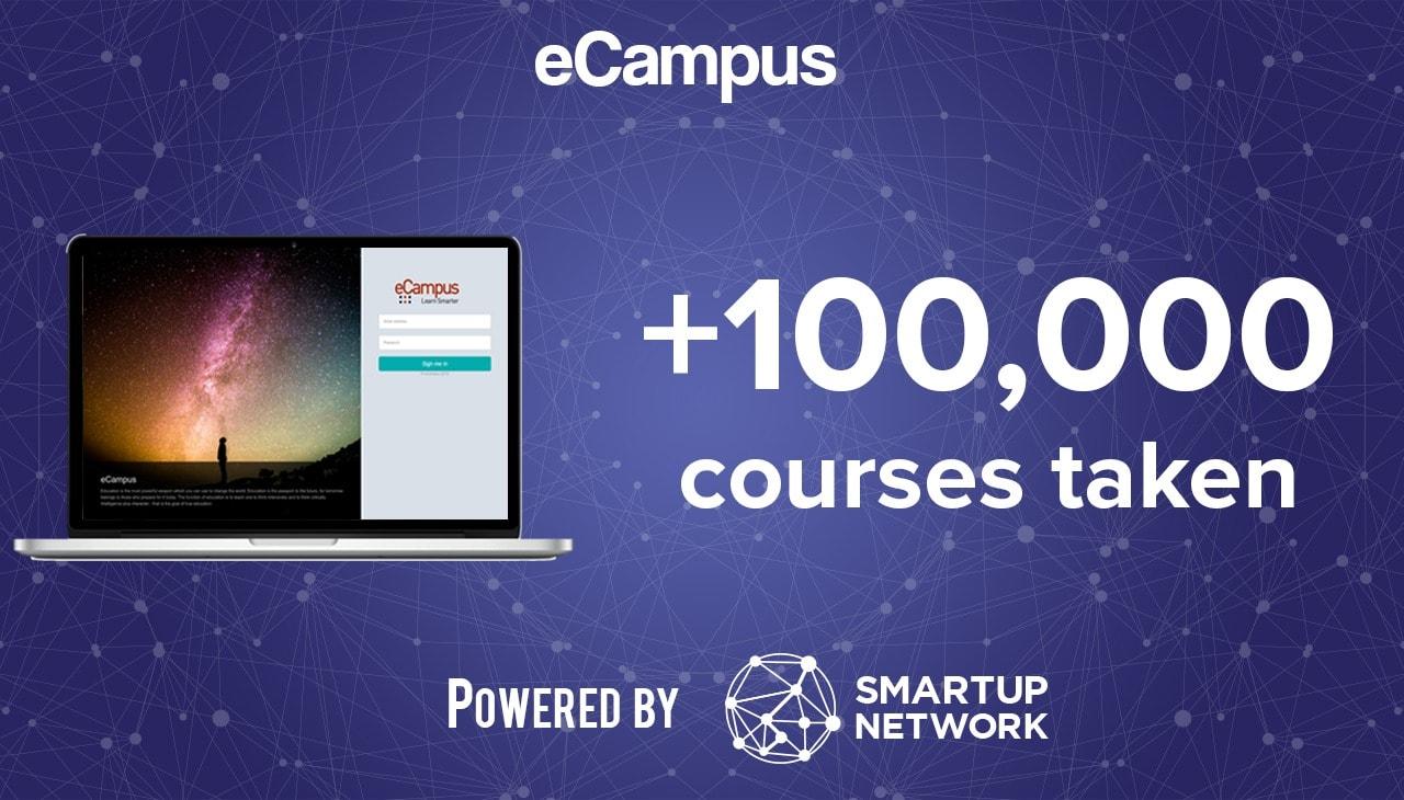 African Startup eCampus Desktop 100,000 courses taken