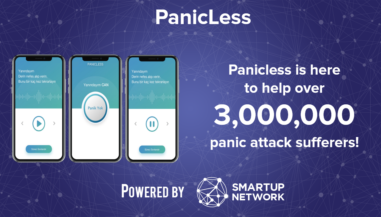 Panicless app | Smartup Network | Startup