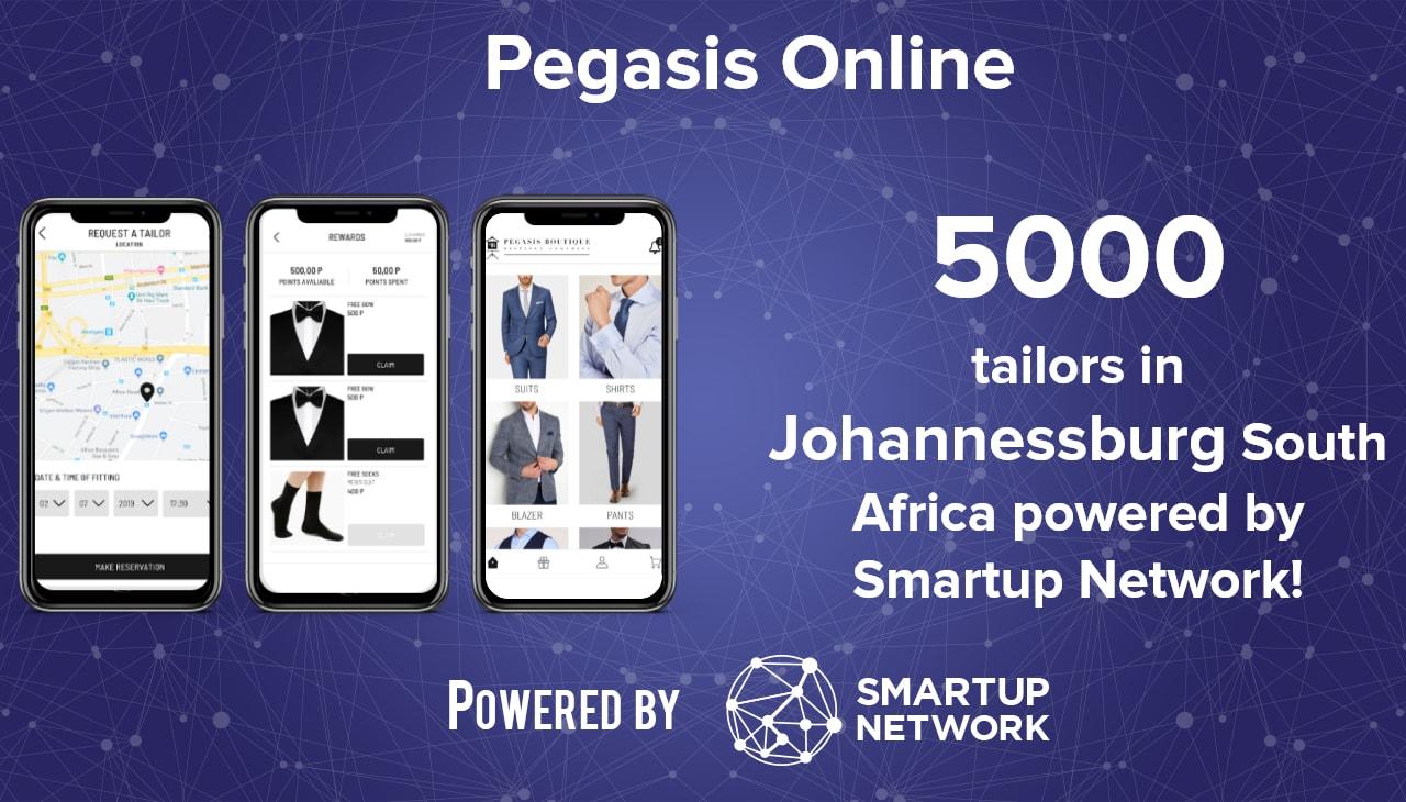Startup Pegasis online 3 mobile app