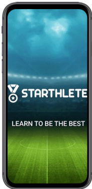 Startup Starthlete mobile screen from mobile app