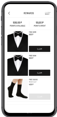 Man Black Suit and black sock mobile app