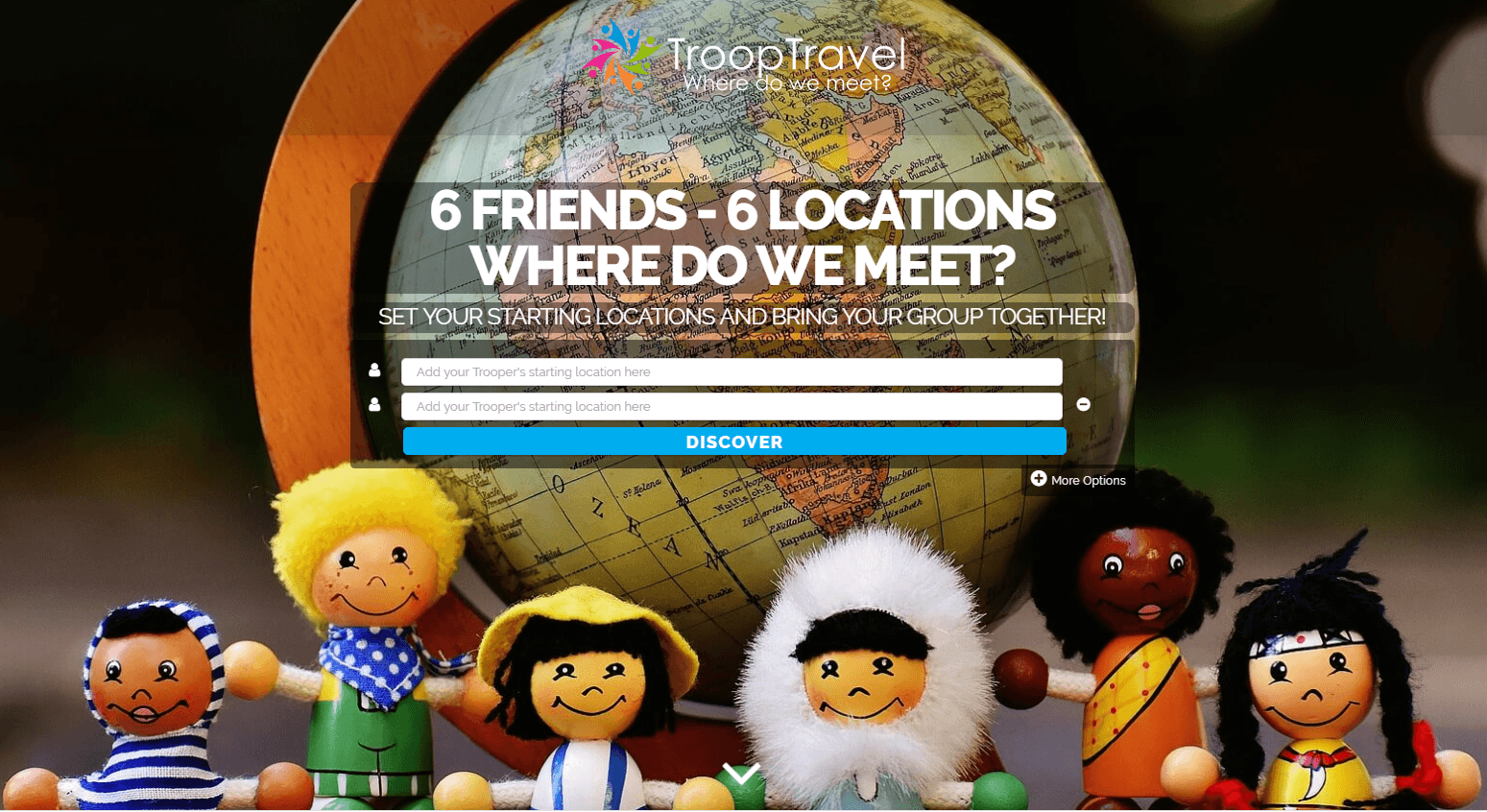 """I live in Dusseldorf, my girlfriend lives in Istanbul, where do we meet? Featured Smartup ""Troop Travel"" has the answer!"